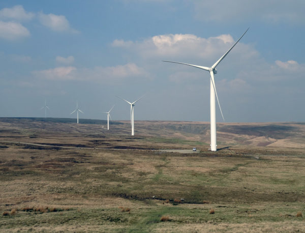 Scout Moor Wind Farm. Image by Stephen Gidley
