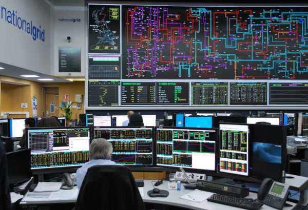National Grid's control room. Source: National Grid