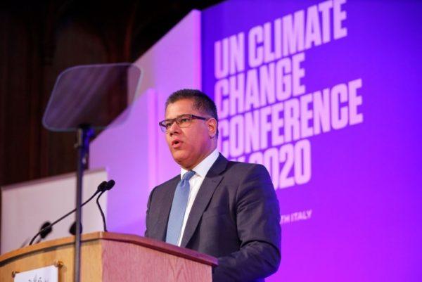COP26 President, Alok Sharma