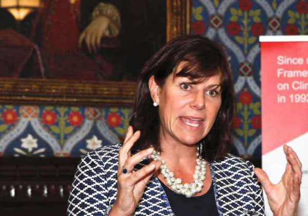 Energy Minister Claire Perry is overseeing a number of work streams on heat.