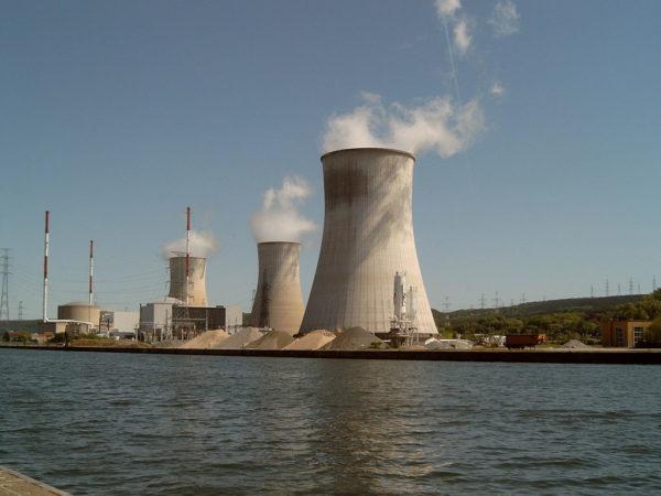 Belgium's Tihange nuclear power station