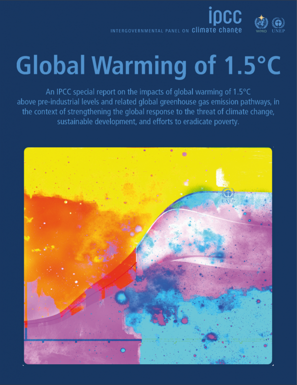 The IPCC's 1.5°C report is driving debates about net zero targets around the world. Image: IPCC
