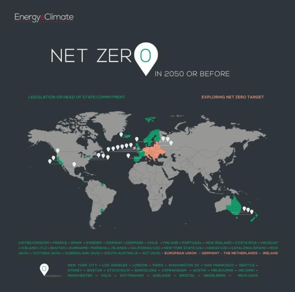 Net zero map