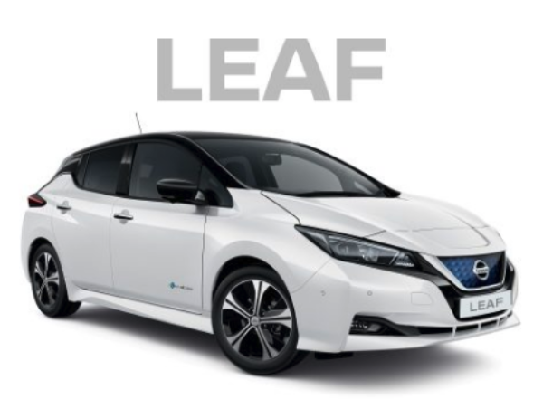 The UK-made Nissan Leaf is Britain's most popular electric car. Image: Nissan