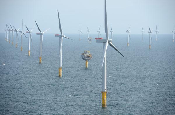 Sheringham wind farm