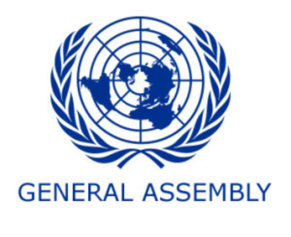 UN General Assembly logo