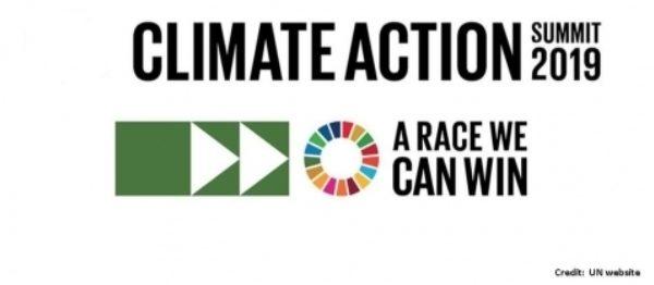 Climate Action Summit logo. Image: UN