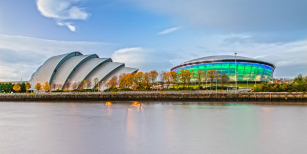 COP26 will be held at the Scottish Events Campus. Image: Donald Thompson, creative commons licence