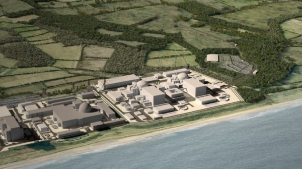 EDF's proposals for a new nuclear plant in Suffolk are expected to be backed. Image: EDF
