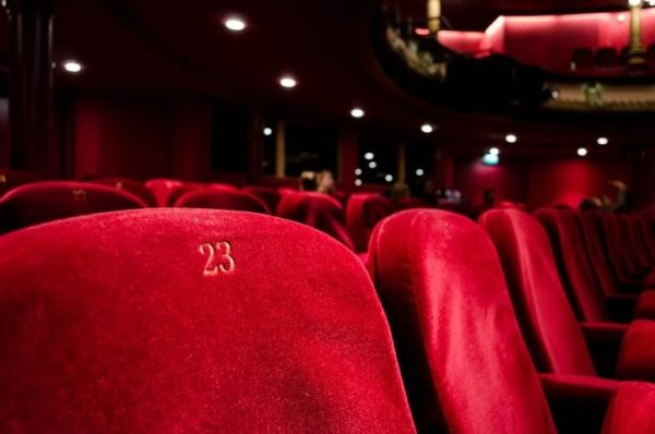 Theatre audience seats