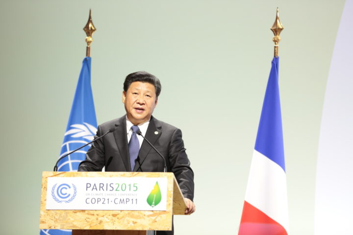 Xi Jinping at COP21   UN Climate Change via Flickr   Creative Commons