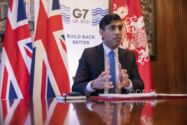 Rishi Sunak hosting the first UK G7 Finance Meeting | HM Treasury, 2021