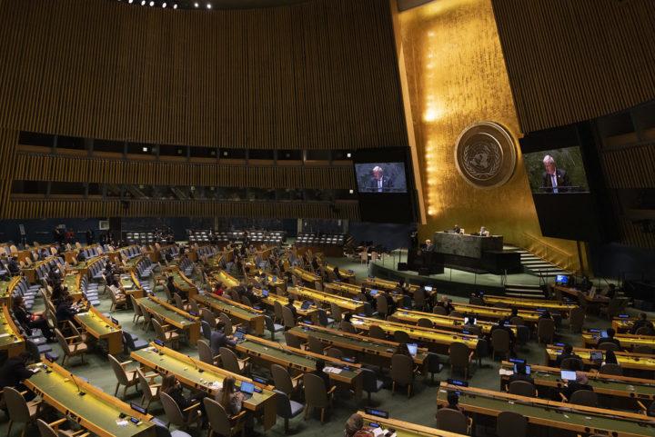 UN General Assembly, September 2021 | No 10 Flickr