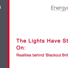 The Lights Seem to be Staying On: Realities behind 'Blackout Britain'