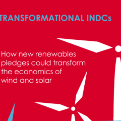 Transformational INDCs: how new renewables pledges could transform the economics of wind and solar