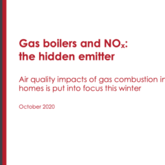 Gas boilers and NOx: the hidden emitter