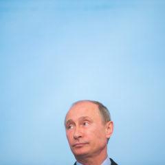 Putin's laughing now