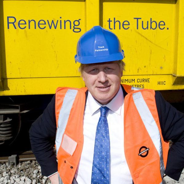 Next, Mr Johnson says he wants to renew the UK's electric vehicle programme... Image: BorisForLondon2012Campaign