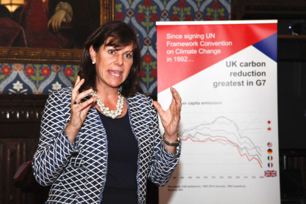Climate Change Minister Claire Perry will publish the Government's Clean Growth Plan this autumn. Image: Leanne Bouvet