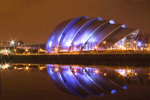 The UN climate summit will be held at the Scottish Events Campus. Image: Donald Thompson, creative commons licence
