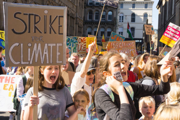 Glasgow will host the summit against a backdrop of escalating concern on climate change. Image: Osama Bhutta, CCL