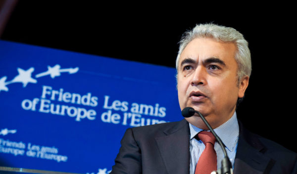 In its World Energy Outlook, the IEA's Executive Director Fatih Birol set out the challenge facing policymakers