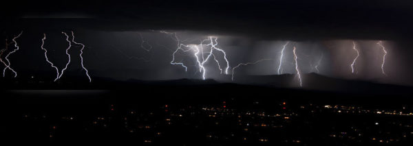 Triggered by lightning... but how remains somewhat unclear. Image: John Fowler, CCL