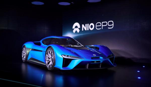 The Nio EP9 supercar. Image: NextEV