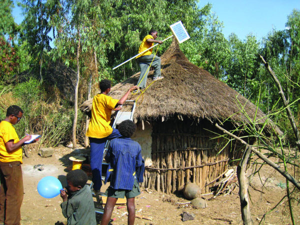 Solar energy in Ethiopia. Image: Bread for the World, Creative Commons licence