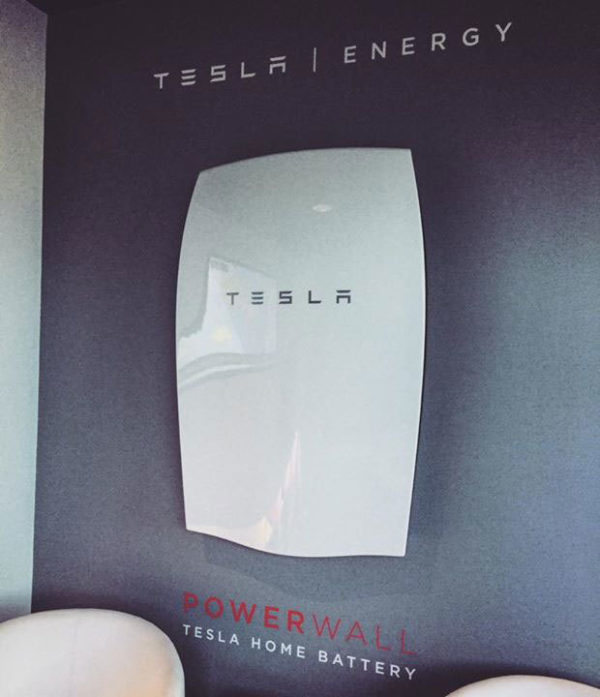 Home batteries like the Tesla Powerwall are becoming increasingly popular. Image: Pasco Olivier, creative commons licence