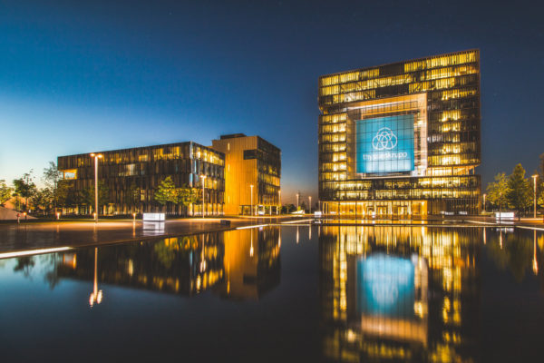 The world's 10th biggest steel company ThyssenKrupp is among German corporates calling for Covid-19 and climate change to be tackled simultaneously. Image: Michael Sciersci, CCL