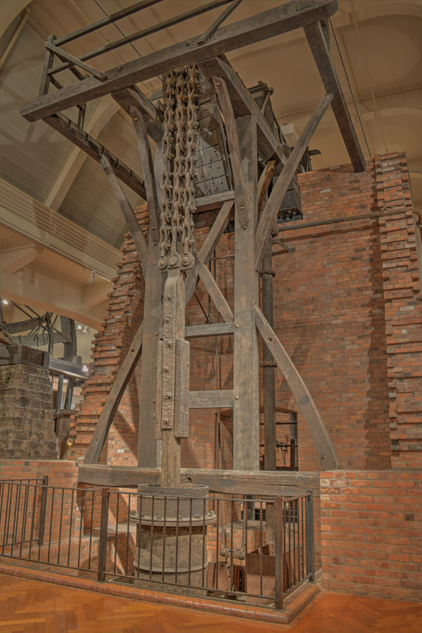 James Watt's steam engine doubled efficiency... and ramped up coal burning. Image: dsdugan, CCL