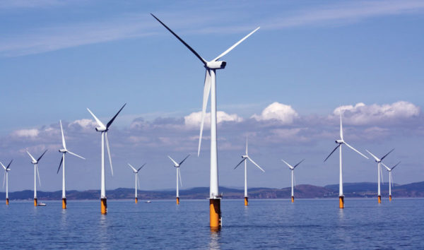 The cost of technologies like wind power has fallen faster than expected. Image: National Grid