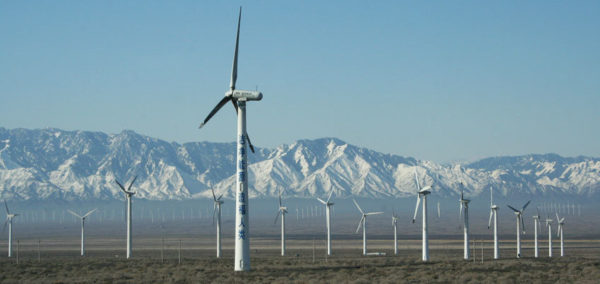 Many developing countries such as China are investing heavily in clean energy already. Image: Kaj7, Creative Commons licence