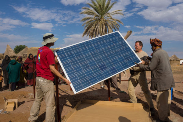 Solar power is boosting energy access in developing countries. Image: BudapestBamako, Creative Commons licence