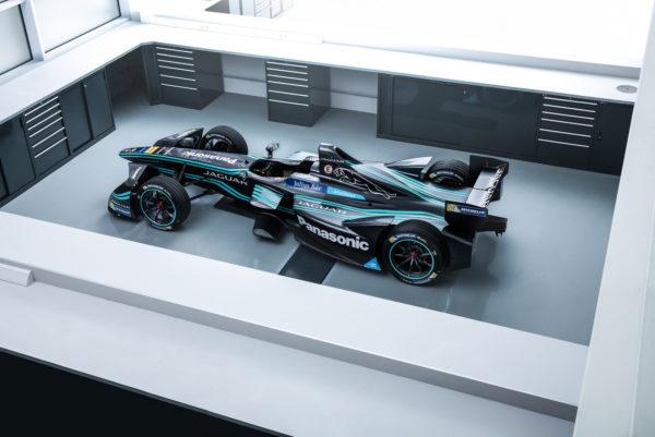 Jaguar's Formula E electric car. Image: Jaguar Land Rover