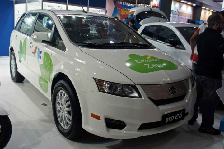 The E6 was the best selling all-electric car of Chinese firm BYD in 2016