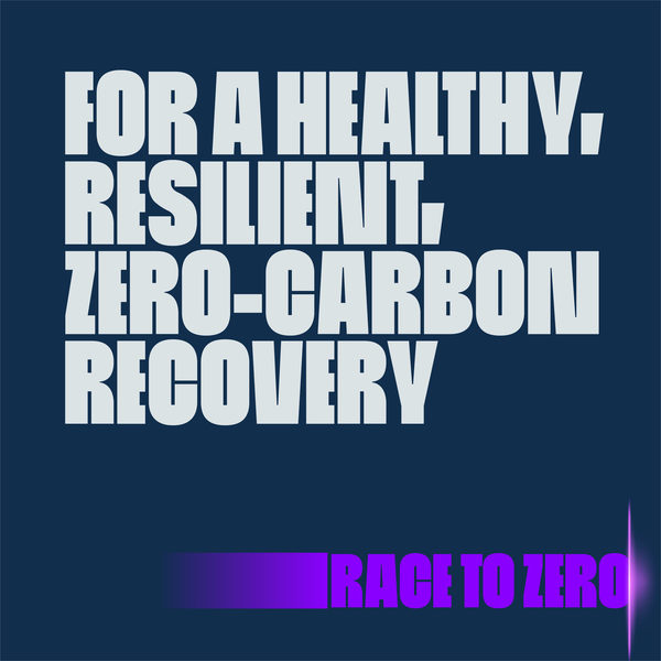 For a healthy, resilient, zero-carbon recovery