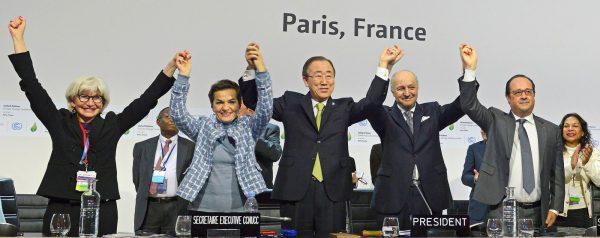 UN Paris climate summit attendees