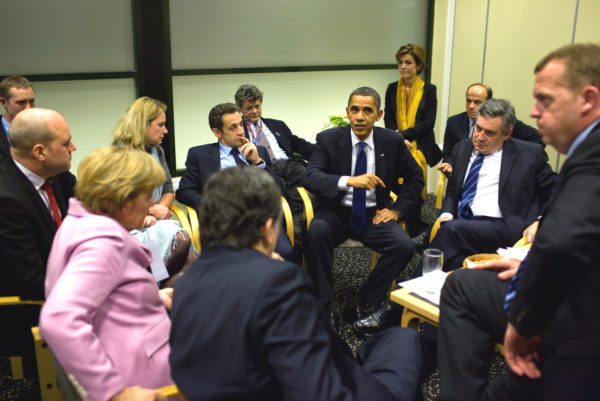 The 2009Copenhagen summit had many leaders but little leadership. Image: Pete Souza/White House, CCL