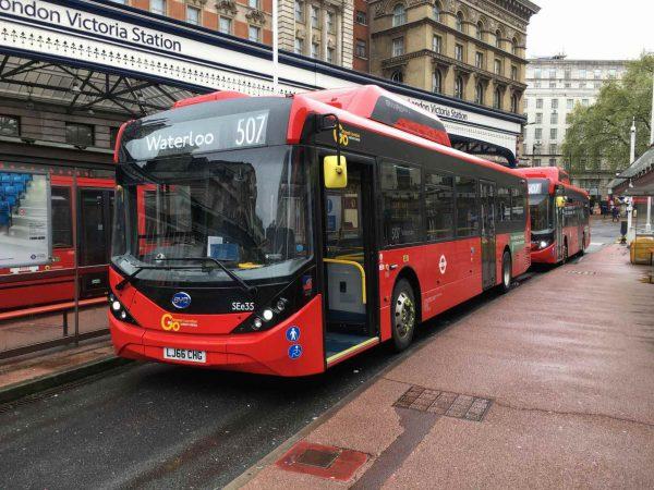 London electric bus