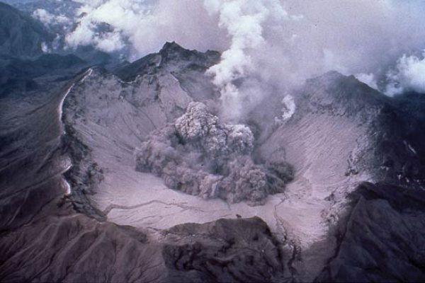 Eruption of Mt Pinatubo