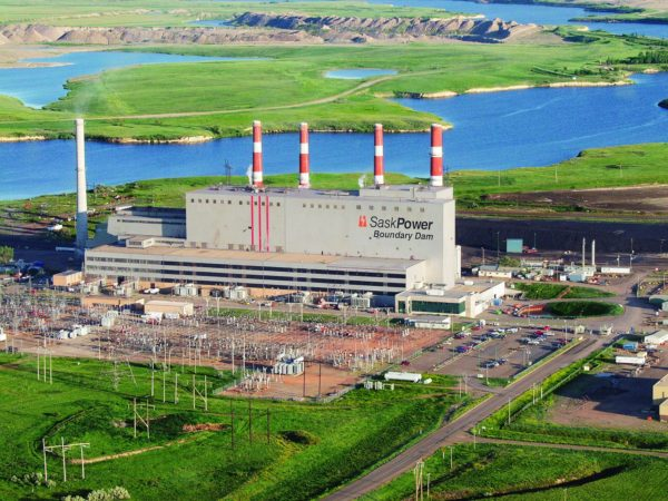 Sask Power's Boundary Dam power plant in Canada