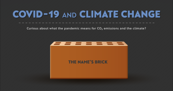 COVID-19 and Climate Change (The name's 'Brick')