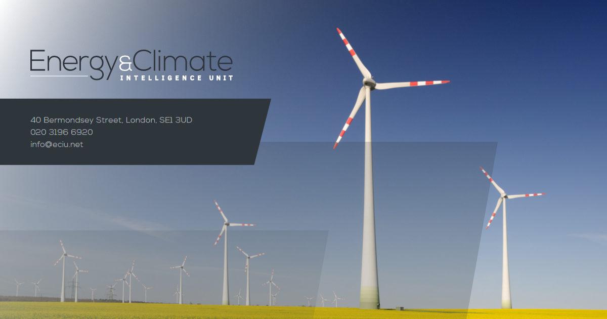 UK energy and emissions   Energy & Climate Intelligence Unit